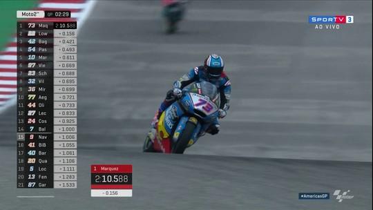 Alex Márquez faz pole position da etapa dos EUA da Moto 2 pelo Mundial de Motovelocidade