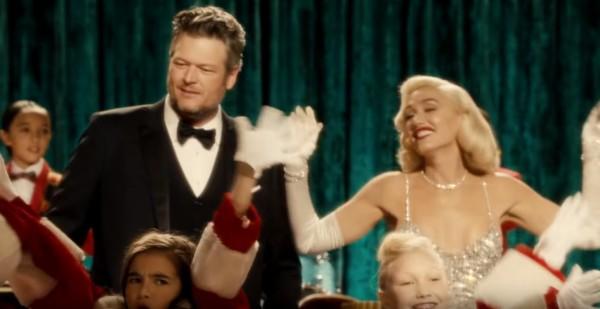 Blake Shelton e Gwen Stefani (Foto: Reprodução YouTube)