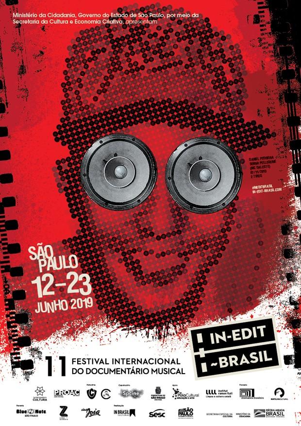 MC Daleste em cartaz do Festival In-Edit 2019 (Foto: Divulgação)