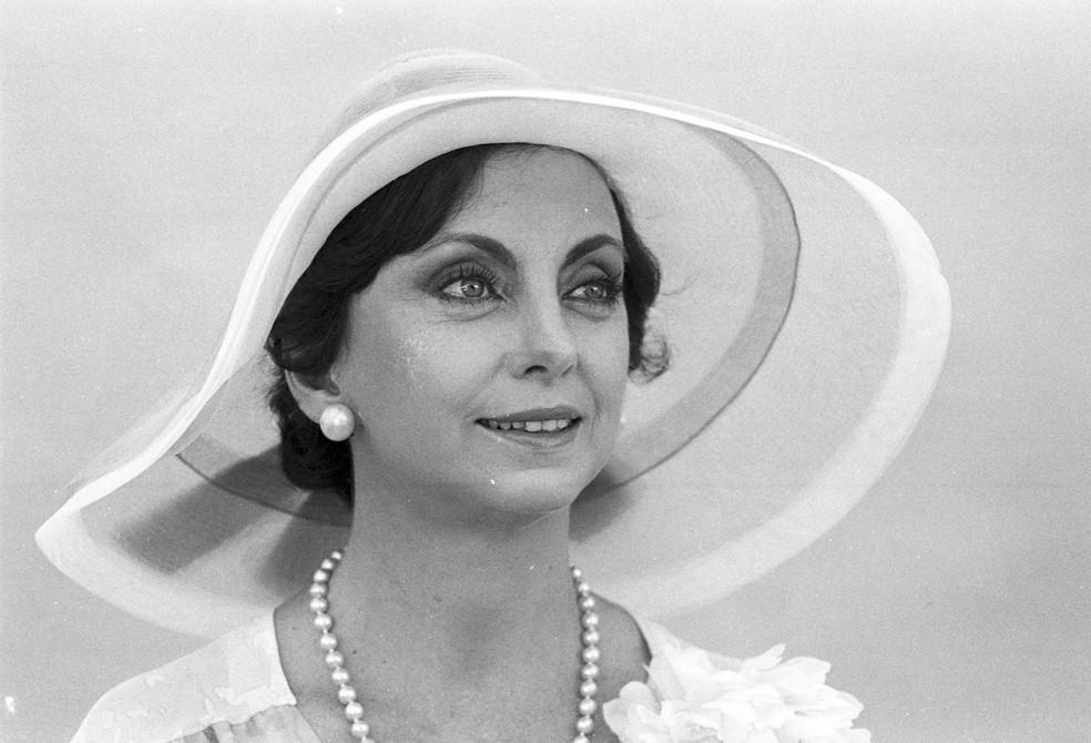 Beatriz Segall em 'Pai Herói', de 1979 (Foto: Acervo TV Globo)