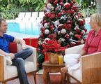 Tiago Leifert e Xuxa no programa especial de Natal | TV Globo