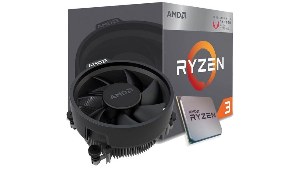 Ryzen chega a 65 Watts de TDP e vem na caixa com cooler de qualidade da AMD — Foto: Divulgação/AMD