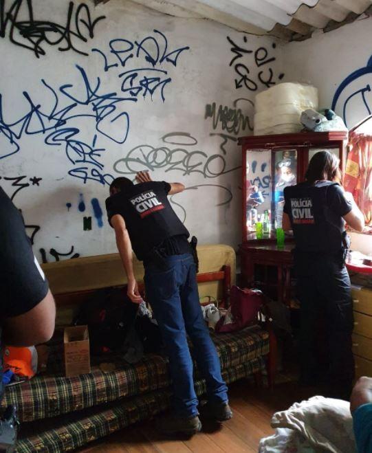 Polícia Civil faz operação contra pichação em Belo Horizonte