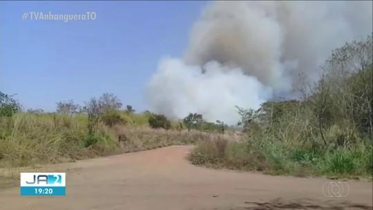 Testemunha diz que manutenção nos trilhos da Ferrovia Norte-Sul causou queimada em fazendas
