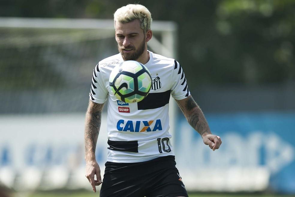 Lucas Lima tem contrato até o final do ano (Foto: Ivan Storti/Santos FC)