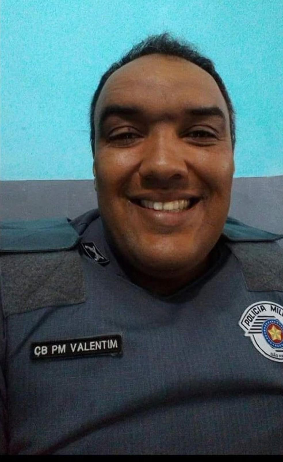 Policial Militar morreu vítima do novo coronavírus em Guarujá (SP). — Foto: Reprodução/Facebook