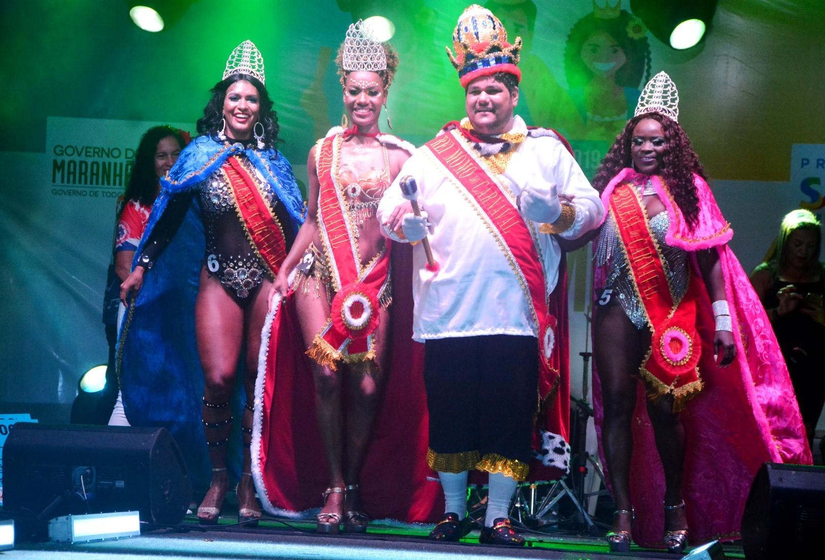 Eleita Corte Momesca do Carnaval 2019 de São Luís - Noticias