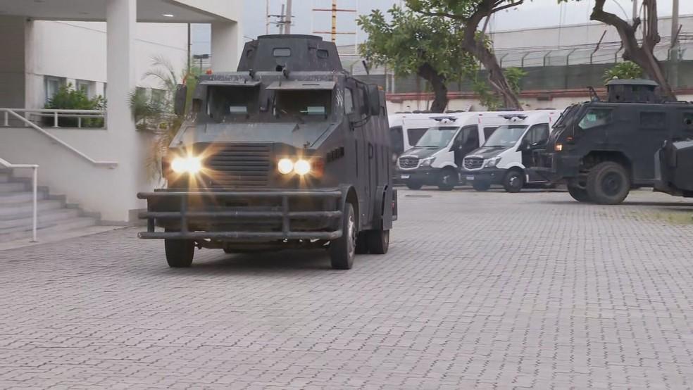 Polícia Civil cumpre 8 mandados de prisão e 30 de busca e apreensão em quatro estados — Foto: Reprodução/TV Globo