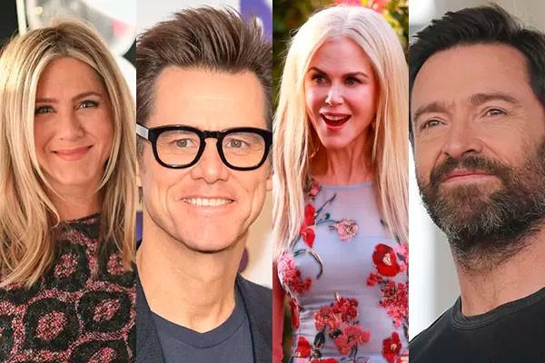 Os trabalhos de Jennifer Aniston, Jim Carrey, Nicole Kidman, Hugh Jackman e de outros famosos antes da fama (Foto: Getty e divulgação)