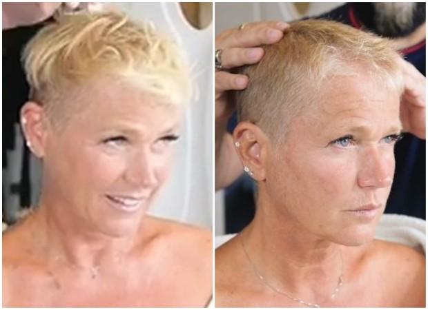 Resultado de imagem para xuxa cabelos curtos