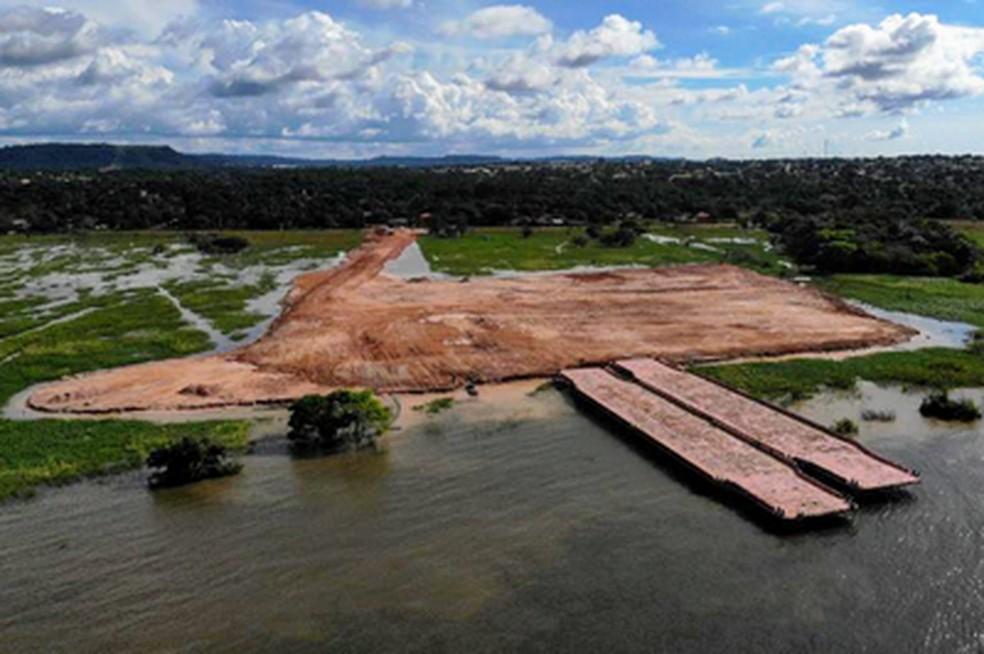 Resultado de imagem para terminal portuário em Santarém