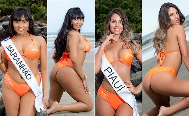 Miss Bumbum 04 - Cassia de Mello e Beatriz Aguiar (Foto: Nelson Miranda / MBB6)