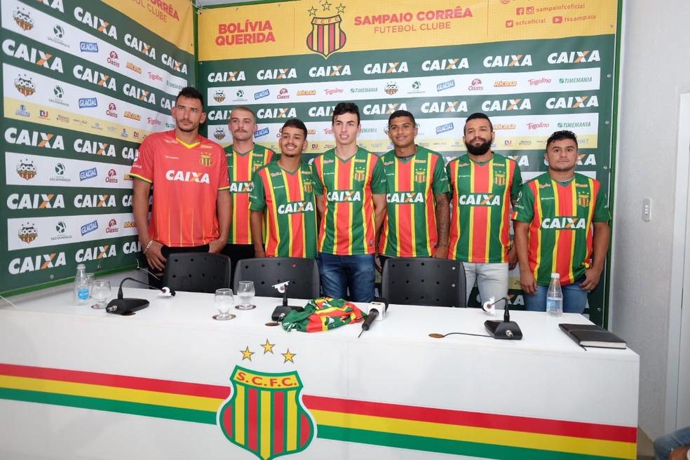 Sampaio Confirma Retorno De Edgar E Paulo Sergio Acerta Com Lateral Nigeriano E Conta Com 21 Jogadores Sampaio Correa Ge