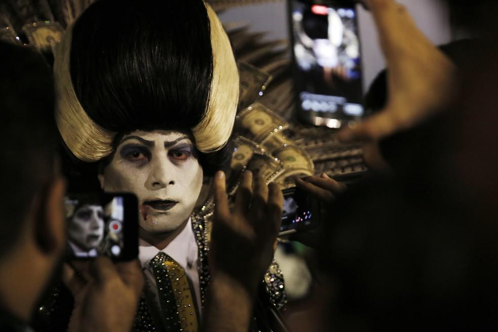 Leo Morais, sobre repercussão do desfile da Tuiuti: 'assustador' (Foto: Marcos Serra Lima/G1)