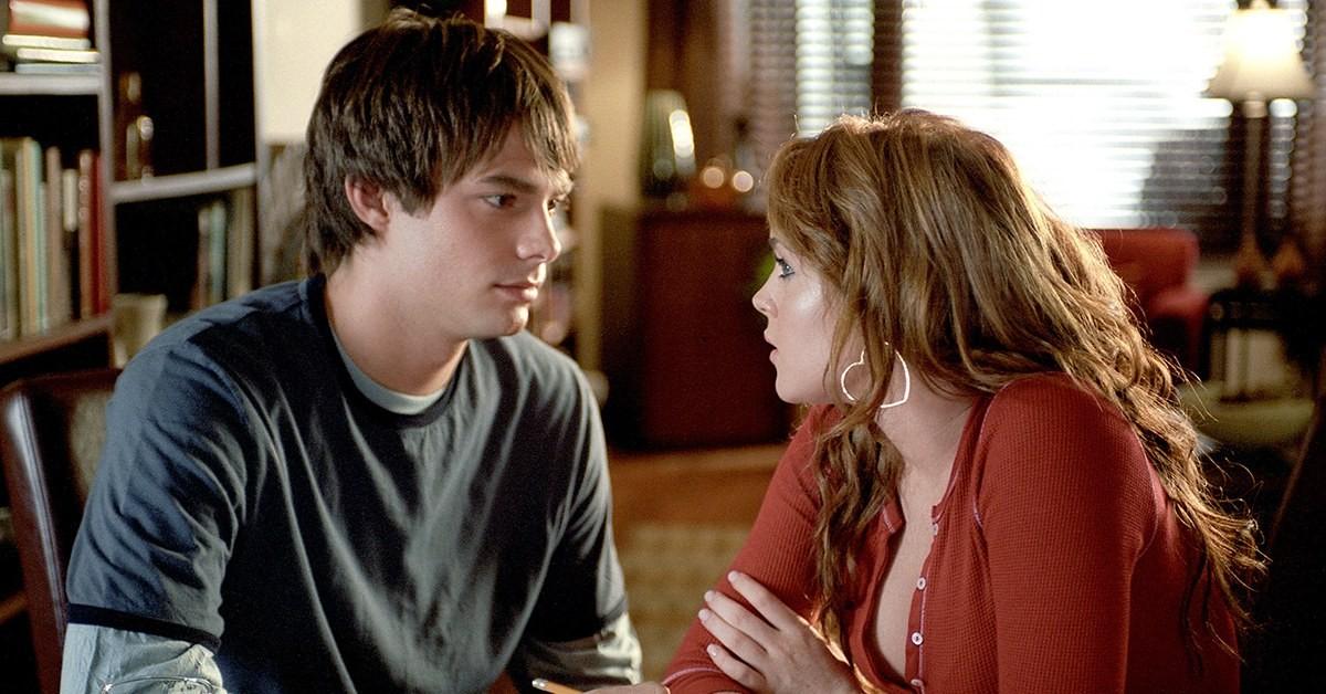 Jonathan Bennett e Lindsay Lohan em 'Meninas Malvadas' (Foto: Divulgação)