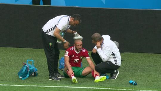 Médico de Marrocos afirma que cumpriu protocolo da Fifa em caso de Amrabat