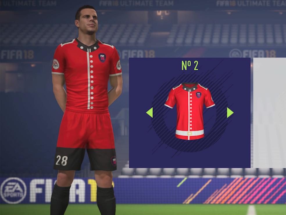 FIFA 18: lista traz os uniformes mais bizarros do modo ... Felipe Fifa 18