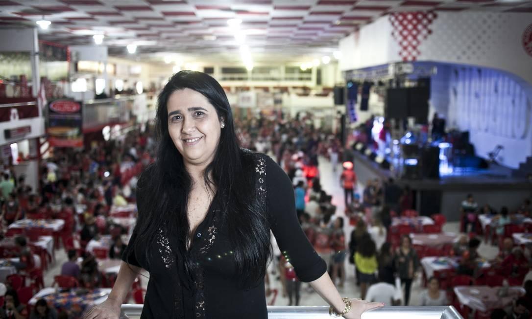 Regina Celi, presidente do Salgueiro