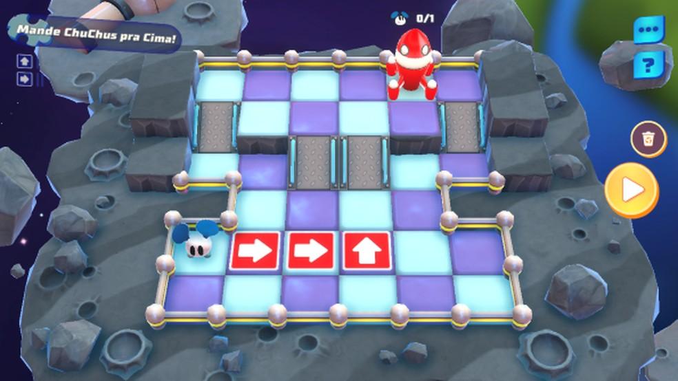 Mapas vão ficando maiores e mais difíceis de acordo com nível do jogador — Foto: Reprodução/Thaime Lopes