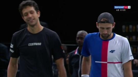Ao lado de polonês, Melo derrota Bruno Soares e Murray e vai à final em Paris