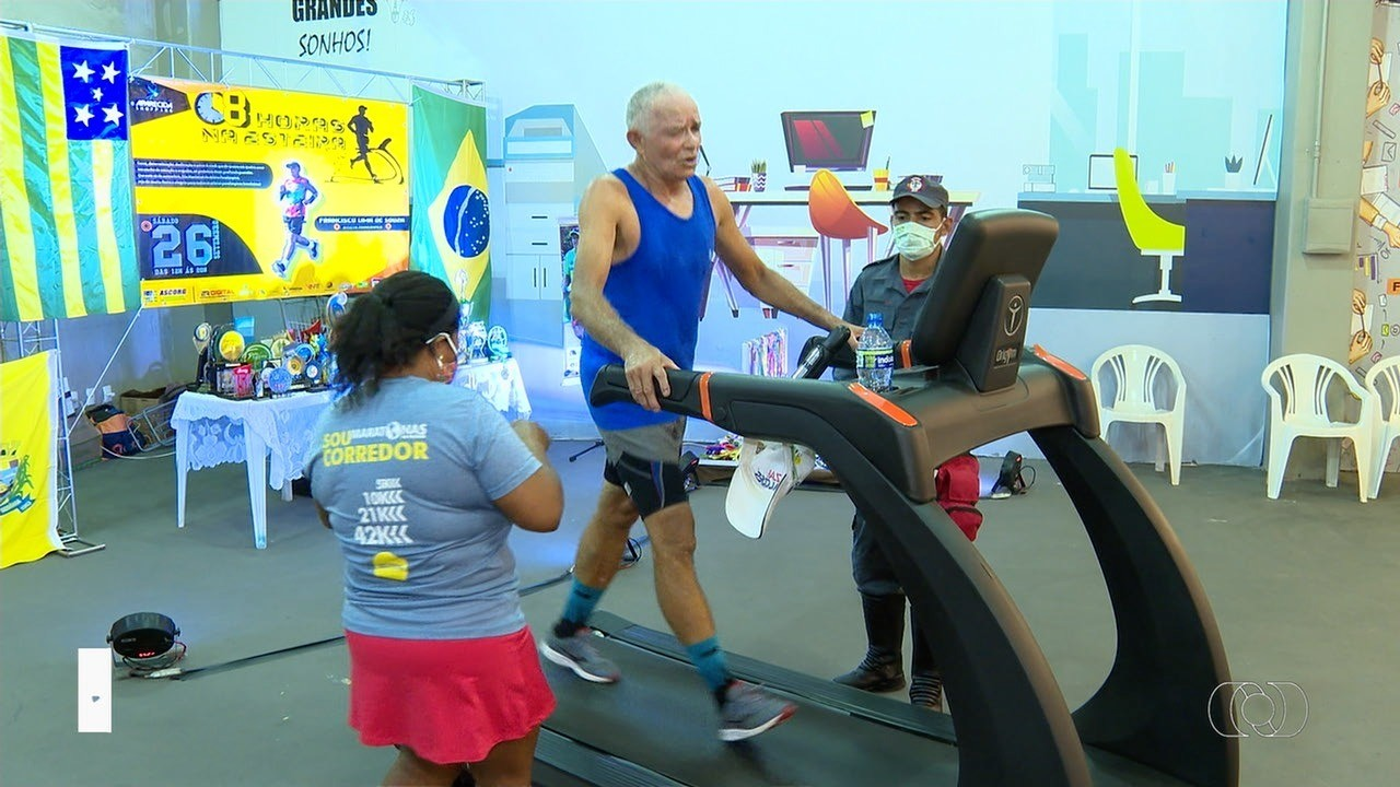 Maratonista paraolímpico quer correr 70 km em esteira de shopping, em Aparecida de Goiânia