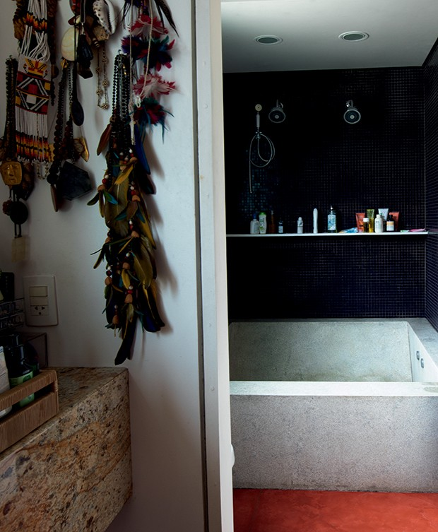 Lifestyle decor - Entrada do banheiro (Foto: Carol Gherardi)