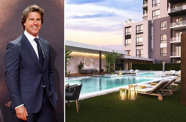 A provável futura residência do ator Tom Cruise (Foto: Getty Images/Reprodução)