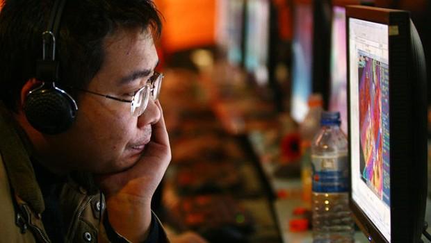 Usuário de internet na China ; cresce número de chineses online ; China contra internet ;  (Foto: Getty Images/Arquivo)