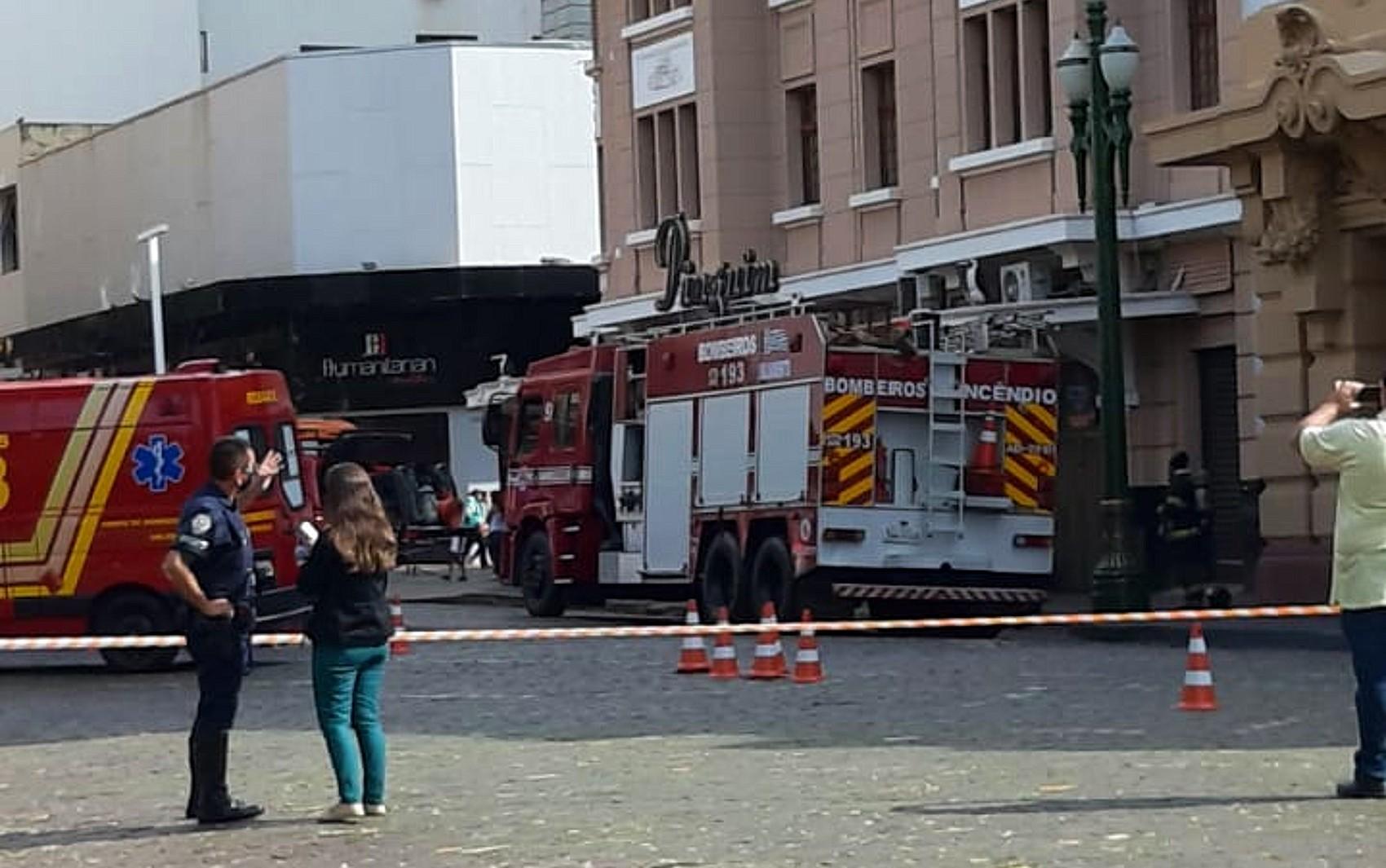 Princípio de incêndio na choperia Pinguim mobiliza bombeiros em Ribeirão Preto, SP