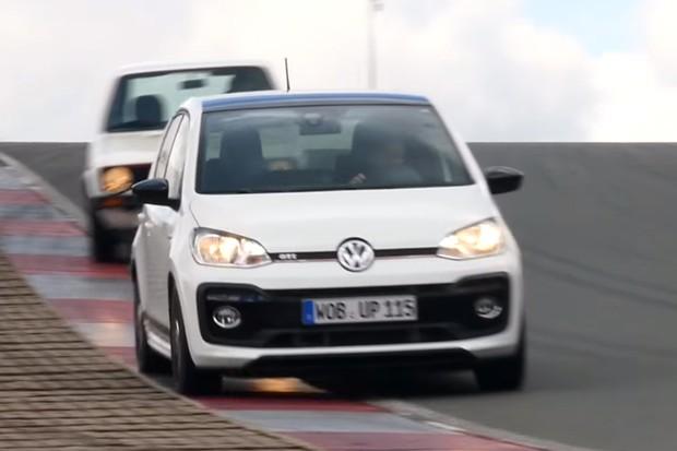 Volkswagen enxerga o up! GTI como sucessor do Golf GTI original (Foto: Reprodução)