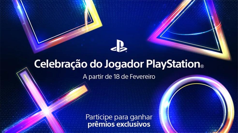 Celebração do Jogador PlayStation trará prêmios para usuários de PS4 que se unirem para atingir as metas do evento — Foto: Reprodução/PlayStation Blog