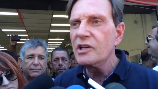 Crivella diz que reduzirá secretariado a 'menos da metade'