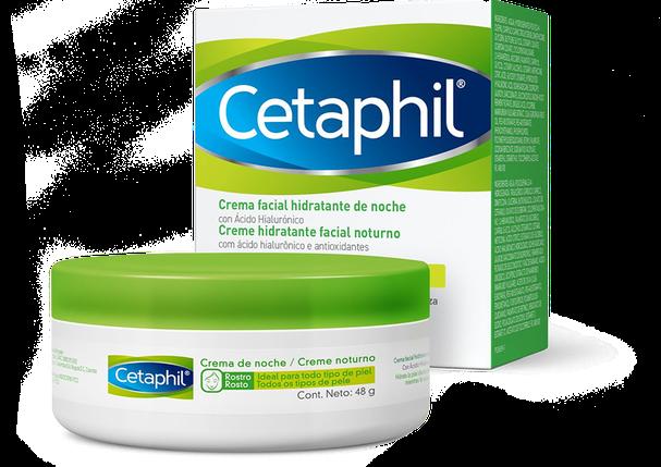 Cetaphil® Creme hidratante noturno com ácido hialurônico (48 g) (Foto: Divulgação)