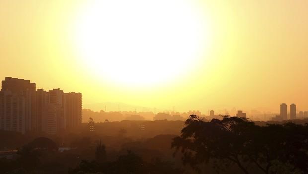 São Paulo_calor_prédios_temperatura (Foto: Thinkstock/Getty Images)