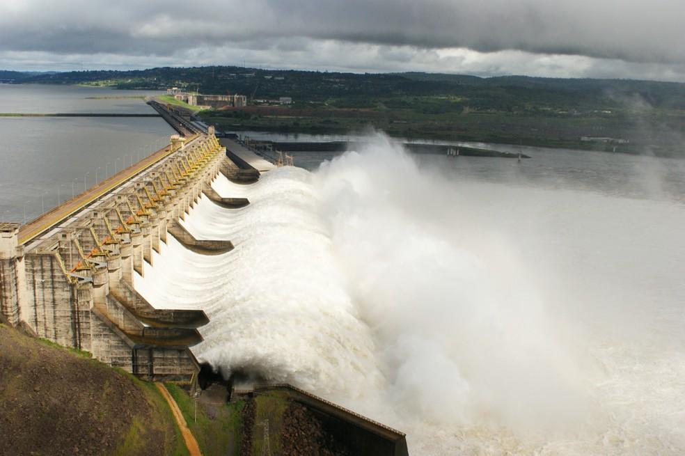 Usina de Tucuruí, no Pará (Foto: Divulgação)