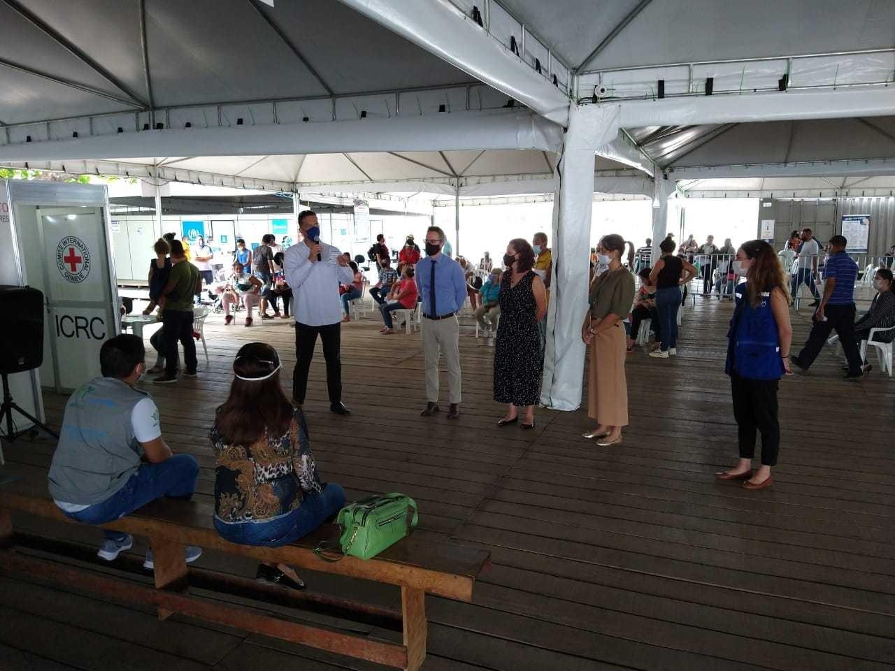 Representantes do Ministério da Justiça e Segurança Pública visitam Roraima em ação contra o tráfico de pessoas em fronteiras