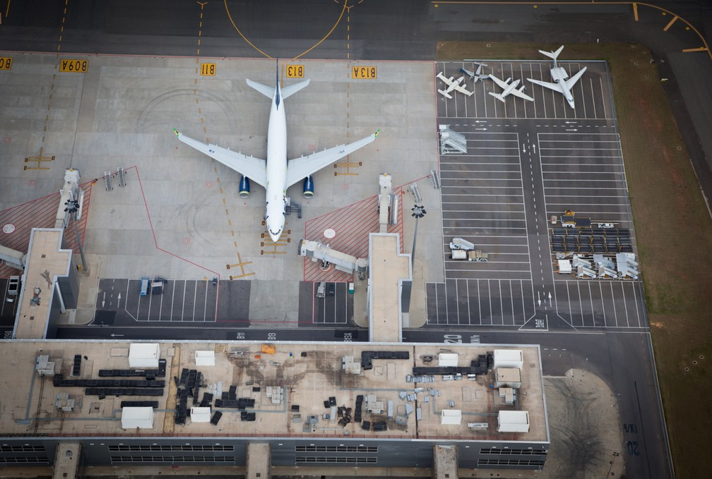 Empresa que controla Viracopos está com o nome sujo no Serasa (Foto: Aeroportos Brasil Viracopos)