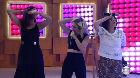 Fátima Bernardes dança 'Ragatanga' com Rouge e bomba na web