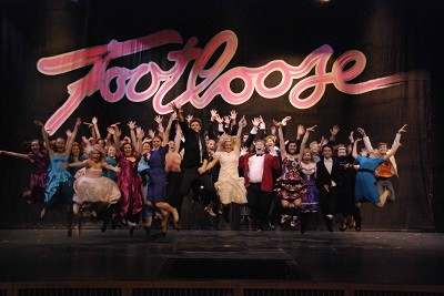 "Elenco do musical ""Footloose"", da Broadway"