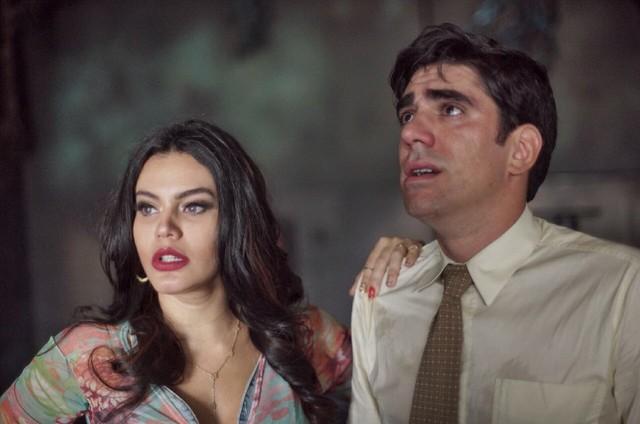 Letícia Lima e Marcelo Adnet em cena do filme 'O pulo do gato' (Foto: Divulgação)