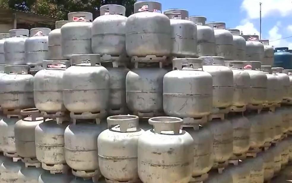 Gás de cozinha está mais caro na Paraíba — Foto: Reprodução/TV Cabo Branco