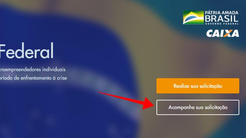 Acompanhe sua solicitação do Auxílio Emergencial no site a Caixa — Foto: Reprodução/Paulo Alves