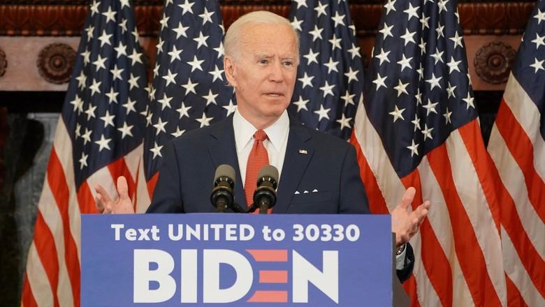 Joe Biden, candidato democrata a presidente dos EUA (Foto: Divulgação)