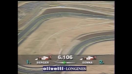 #TdT: Veja o GP da Inglaterra de 1991 no SporTV2 neste domingo