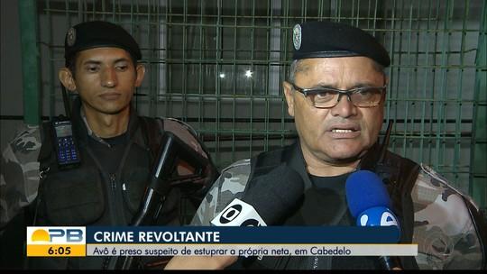 Pescador é preso suspeito de estuprar a neta de 13 anos, em Cabedelo, na PB