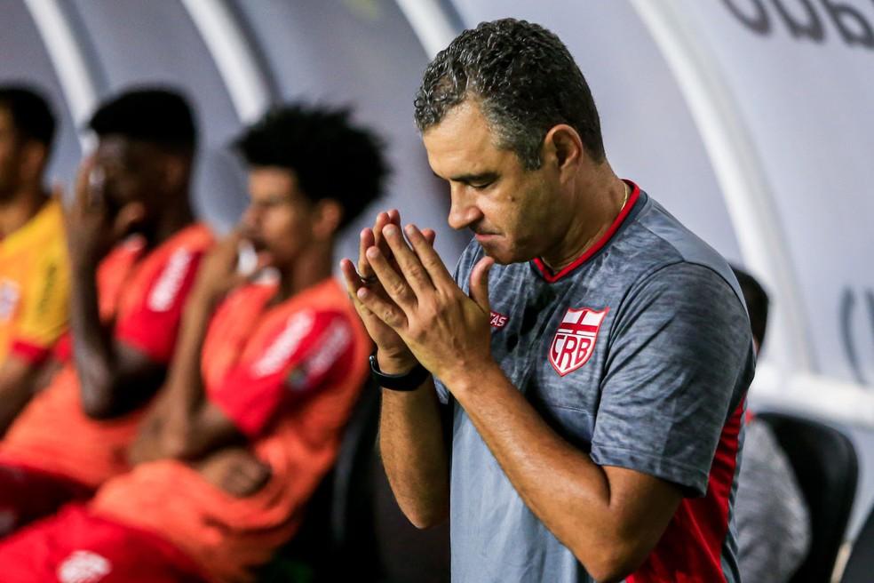 Marcelo Chamusca, técnico do CRB — Foto: Ailton Cruz/Gazeta de Alagoas