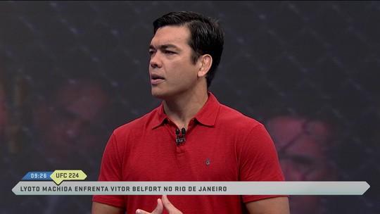Lyoto Machida define luta contra Vitor Belfort no UFC Rio como um Fla-Flu