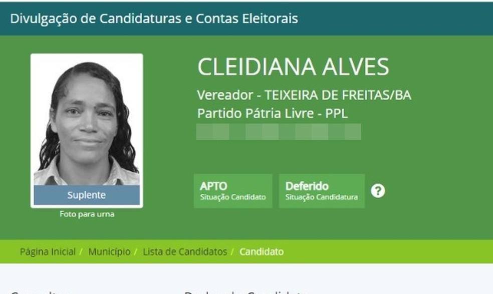 Mulher tem auxílio emergencial negado e se descobre 'vereadora eleita' em app da Caixa — Foto: Reprodução/Divulgacand