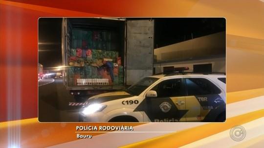 Polícia Rodoviária apreende cerca de 25 toneladas de cigarros contrabandeados em Paulistânia