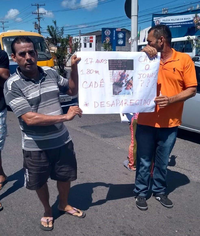 Jonas Neto foi sequestrado no sábado (15) — Foto: Arquivo Pessoal